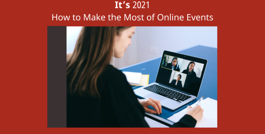 Online events blog
